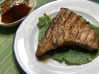 tuna steak